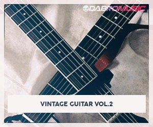 Loopmasters dabromusic vintage guitar vol2 samples 300 250