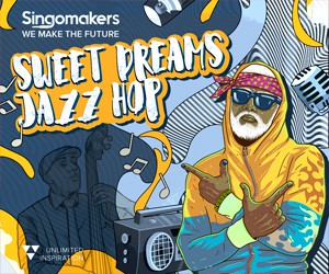 Loopmasters singomakers sweet dreams jazz hop 300 250