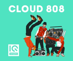 Loopmasters iq samples   cloud 808 cover 300x250