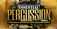 Loopmasters essential percussion banner