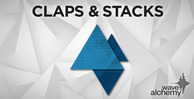 Claps and stacks banner