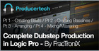 Dubstep Production in Logic Pro by FracTroniX