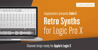 Logic x channel strips  logic synth presets  retro synth sounds  logic essential presets rectangle