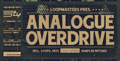 Analogue overdrive synth samples  jensx100 and stylophone loops