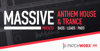 Pw99 anthem house   trance massive presets and synth wav loops