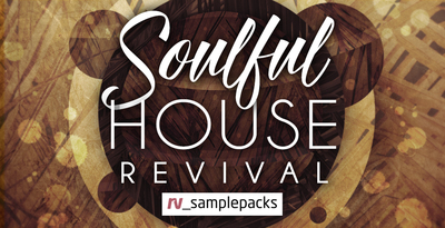 Soulful house revival  house music loops  drums and synths 1000 x 512