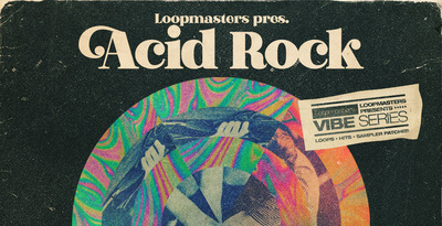 Royalty free acid rock samples  electric bass loops and guitar solos  live drum   organ loops  rectangle