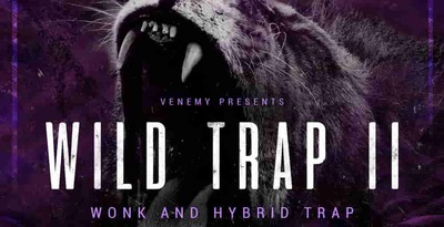 Wild trap 2 cover 512 production master trap loops