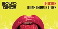 Delicious house drums black octopus 512 house loops