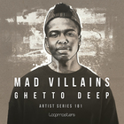 Mad villains  royalty free deep house samples  ghetto house bass and synth loops  house drum loops  late night house music